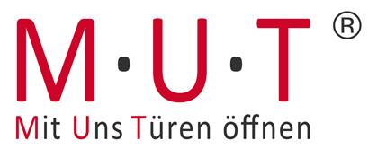 Logo MUT mit uns Türen öffnen